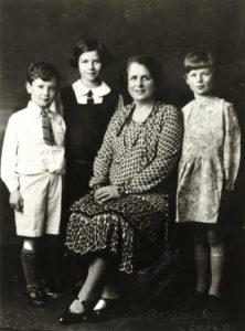 P. D. James aged 12