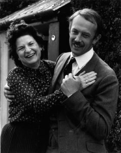 P. D. James with actor Roy Marsden